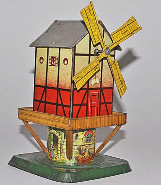 Günthermann Mühle mit Uhrwerk