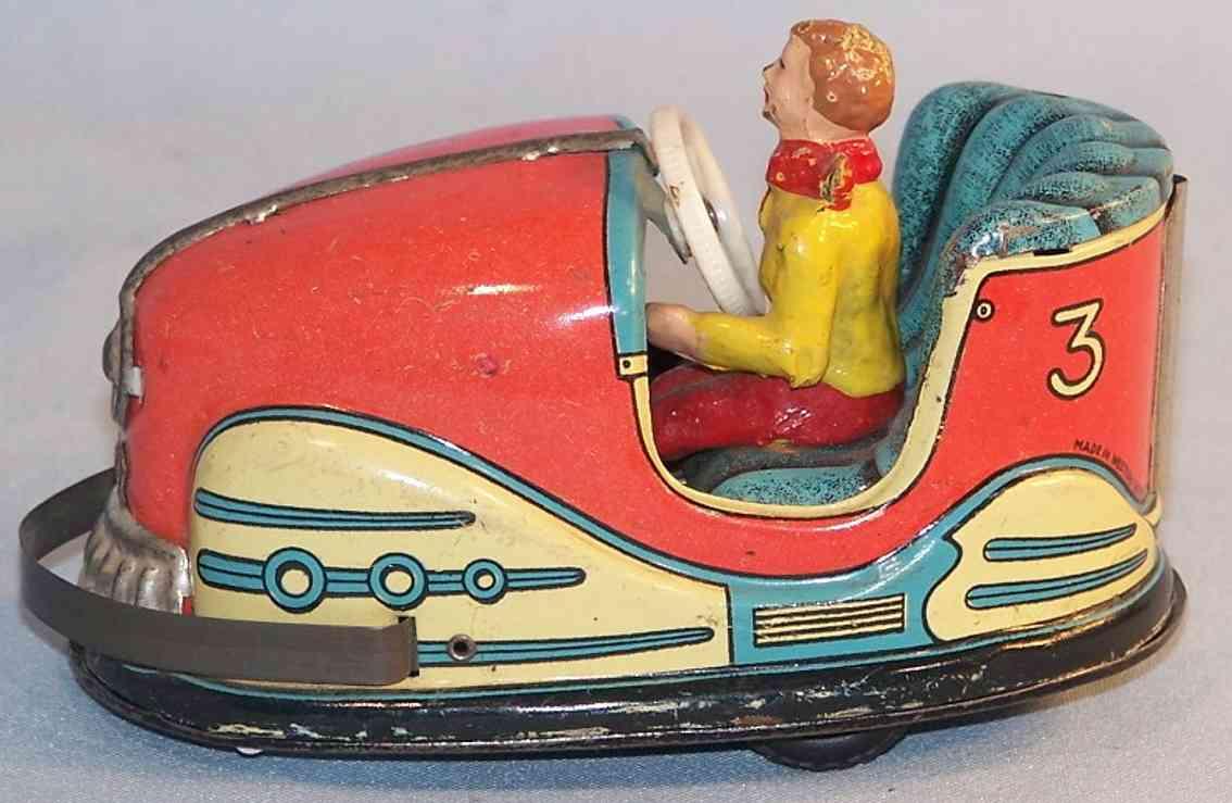 hoch & beckmann 730 tin toy car scooter