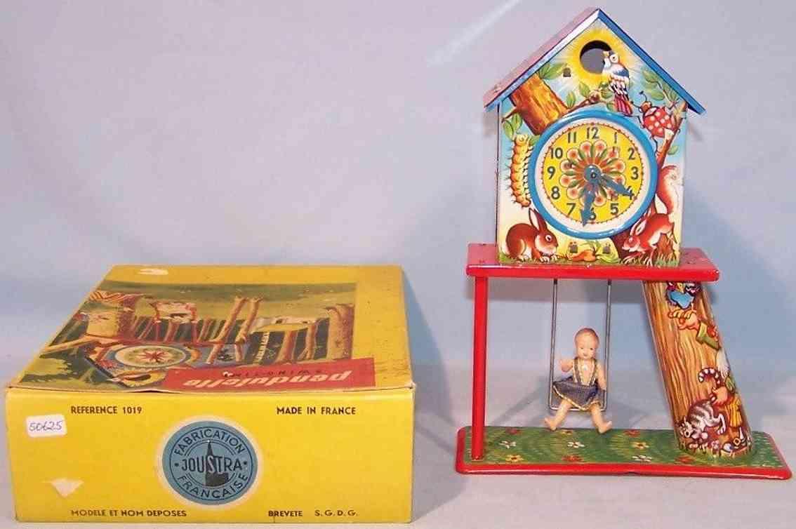 joustra 1019 blech spielzeug pendulette swing-time kinderschaukel