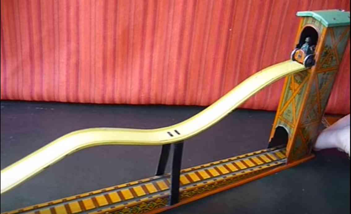 kellermann 214 tin toy elevator rollercoaster