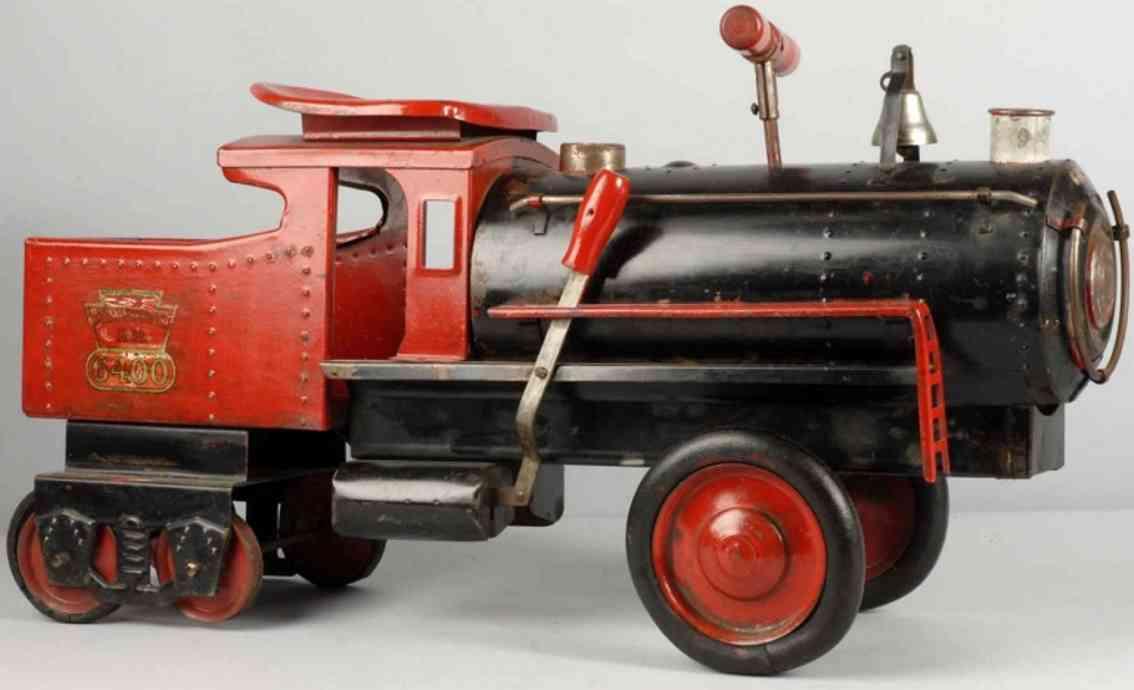 Keystone 6400 Railroad engine and tender