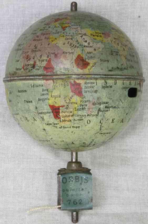 lehmann 762 englisch version tin toy oribs globe top