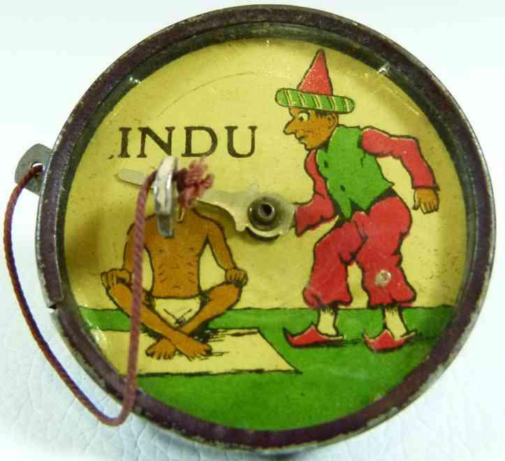 lehmann 824 tin toy indu an indian bits a fakir