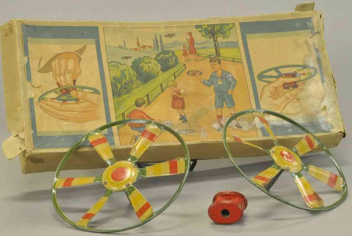 lehmann blech spielzeug fliegendes windrad