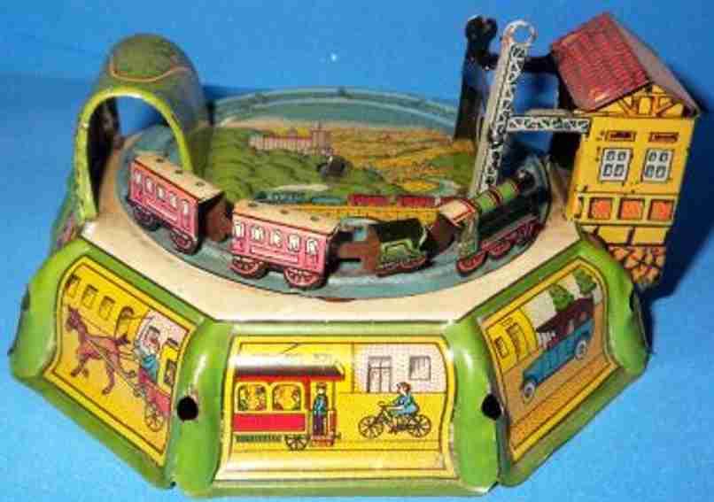 Levy George Gely Spielzeug Eisenbahn