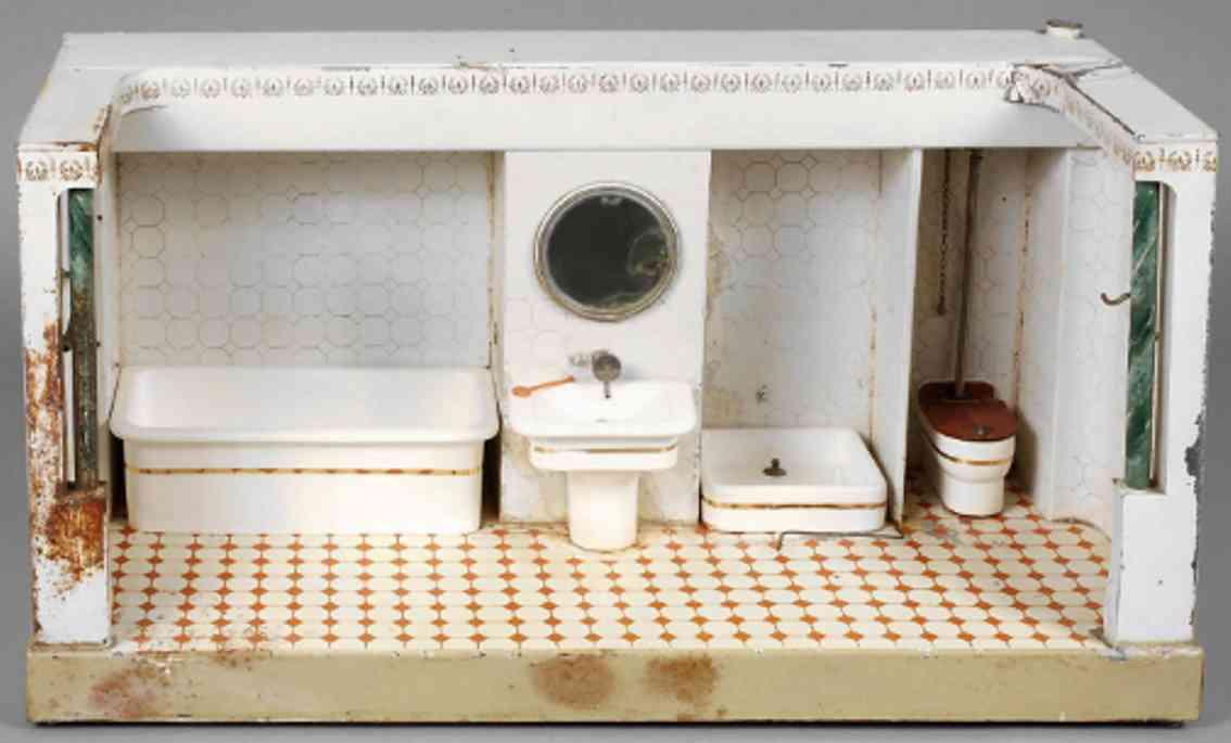 maerklin 8599 blech spielzeug badezimmer