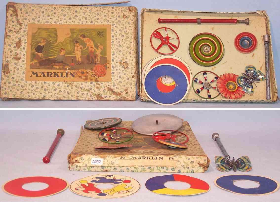 marklin 9069/7 tin toy top game
