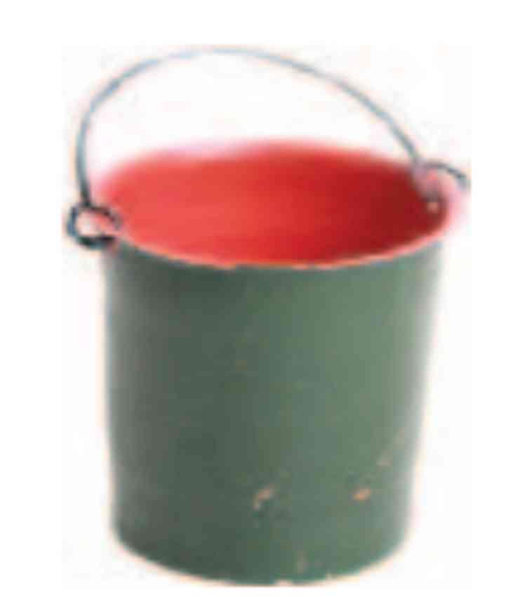 marklin maerklin Eimer tin toy original bucket for fire brigades wells