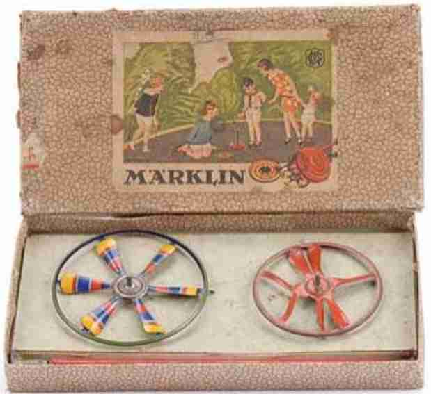 marklin 9084 G/2 tin toy spinner set