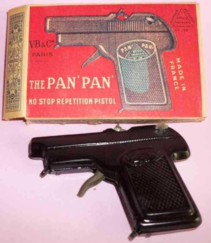 martin fernand 247 blech spielzeug pan pan pistole