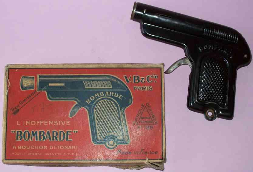 martin fernand 257 blech spielzeug bombarde pistole