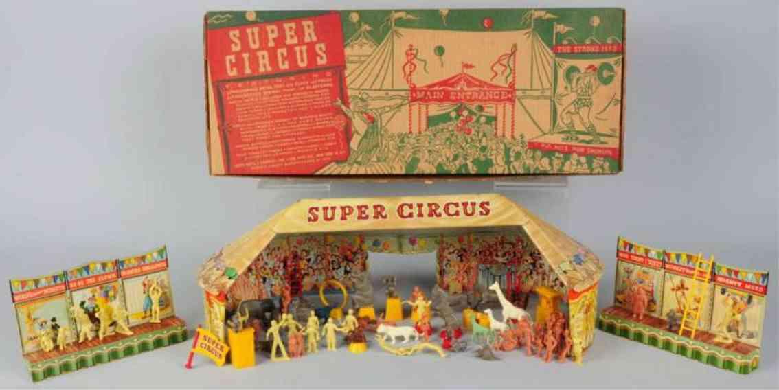 marx louis 4319 blech spielzeug zirkus spielset
