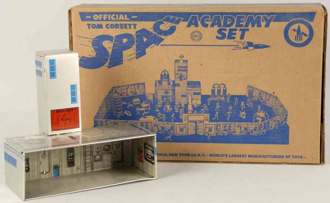 Marx 7010 Official Tom Corbett Space Academy play set