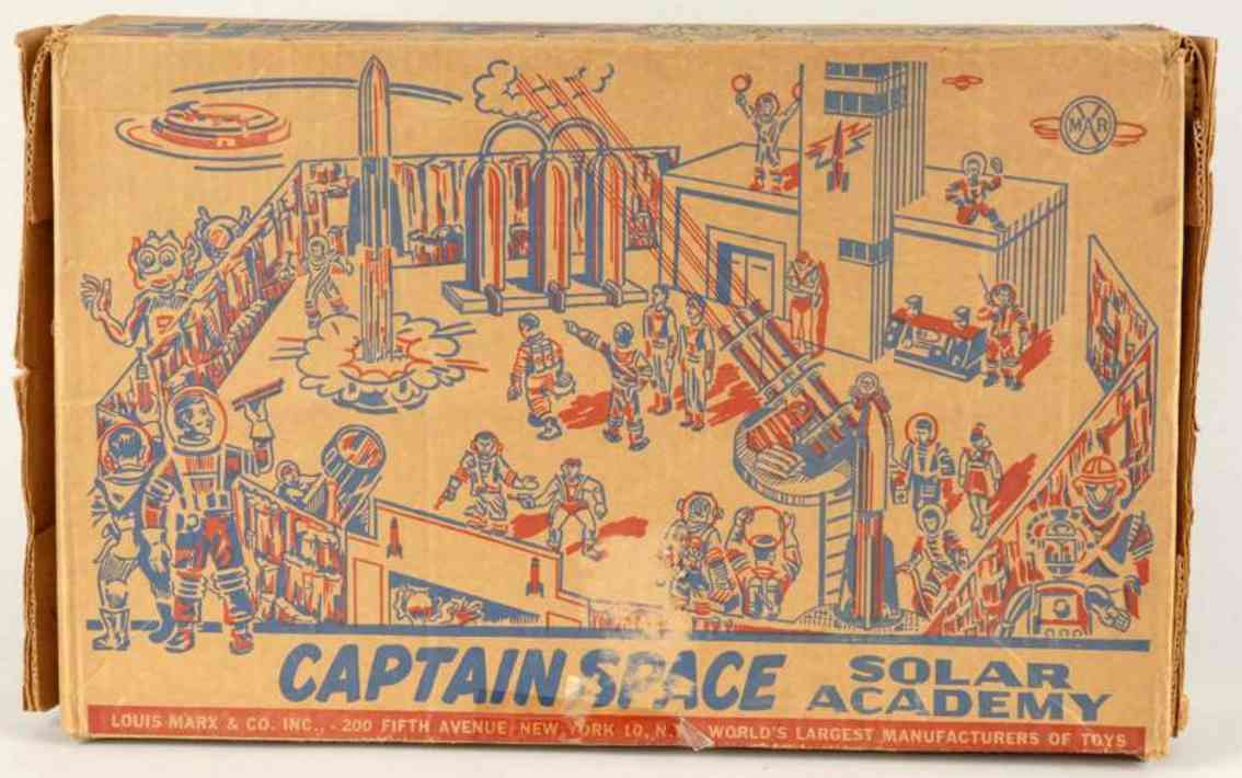Marx 7014 Captain Space Solar Academy play set