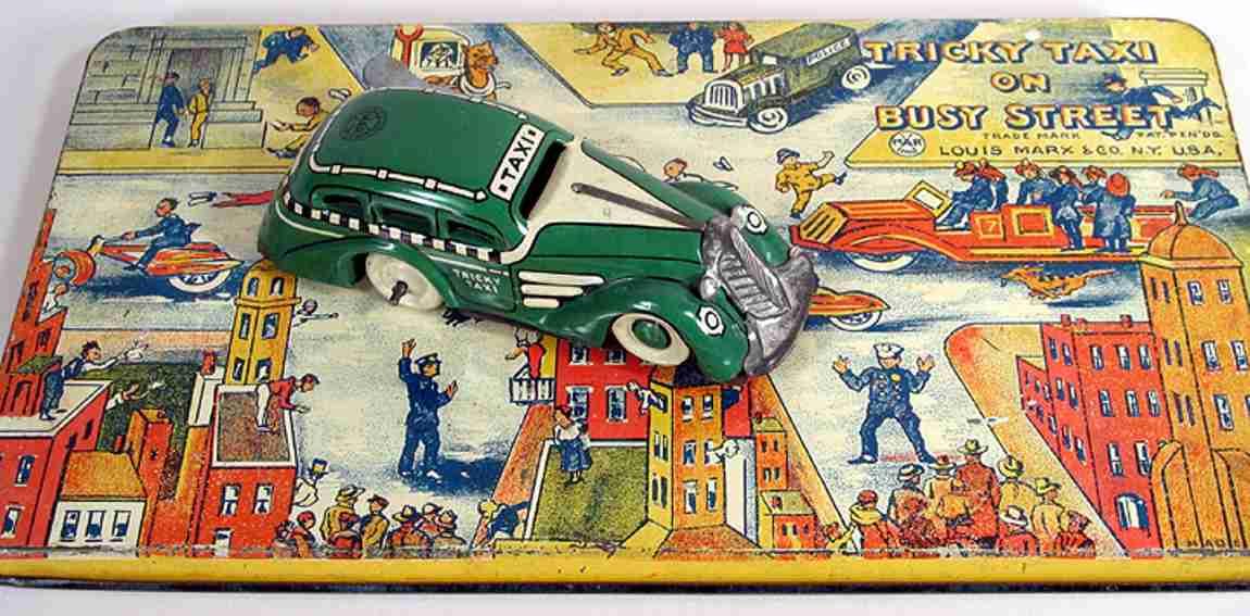 Marx Louis Trick Taxi auf Spielfeld