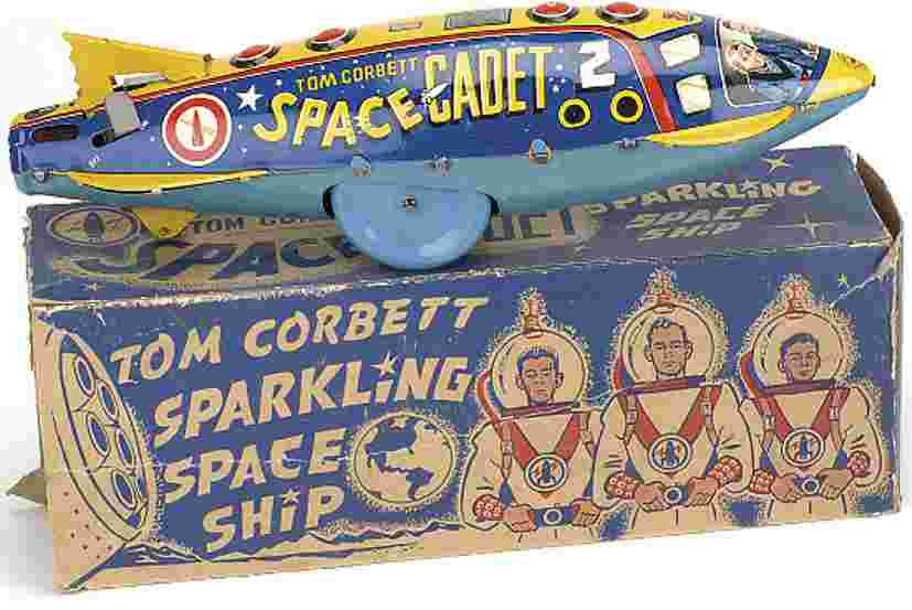 Marx Louis Tom Corbett Space Cadet Rakete