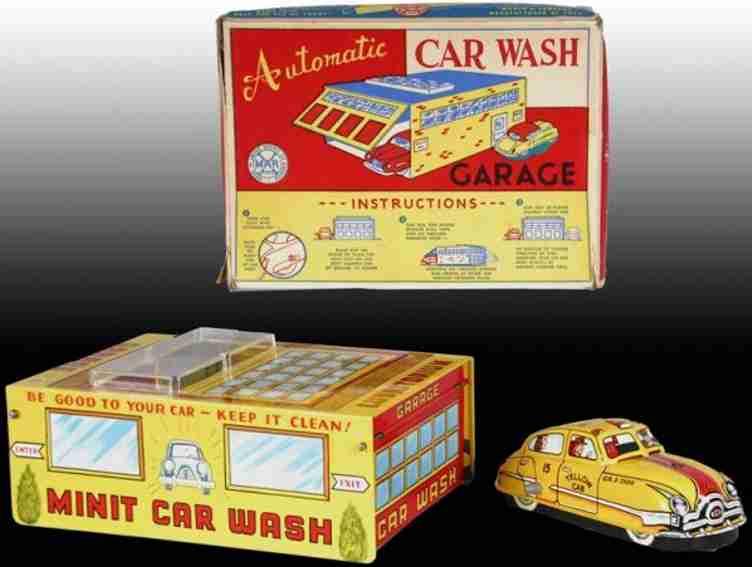 marx louis autowaschanlage und garagenset