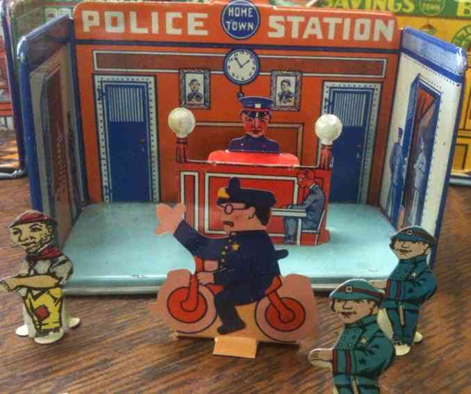 Marx Louis 185  Hometown Polizeistation mit Theke