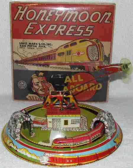 marx louis blech spielzeug honeymoon express