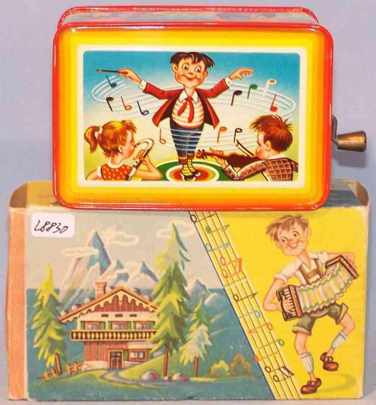 rohrseitz 60/18 tin toy hand organ