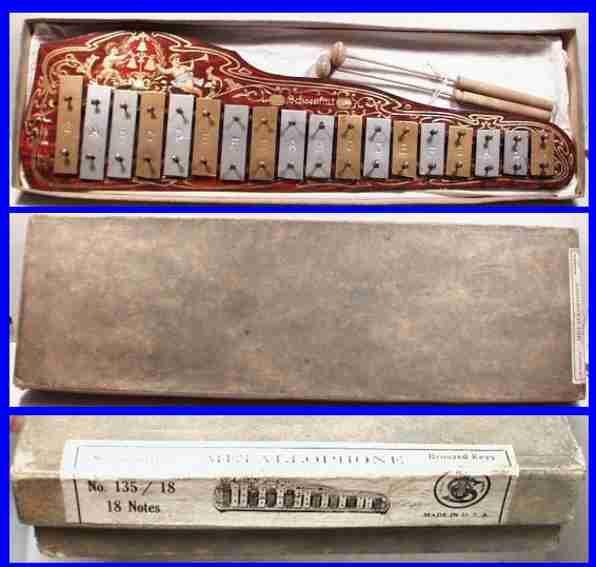 Schoenhut Metallophone