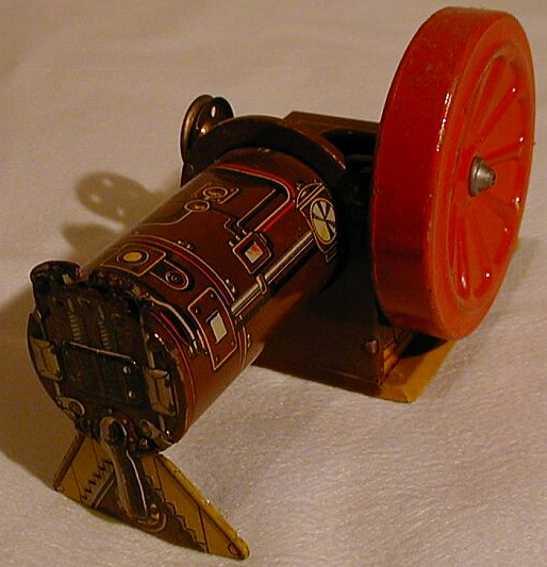 Technofix 204 Motor lithografiert mit Uhrwerk