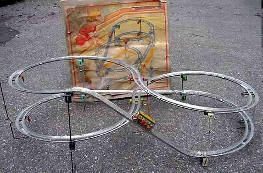 Technofix 221/1 Achterbahn mit einem Auto