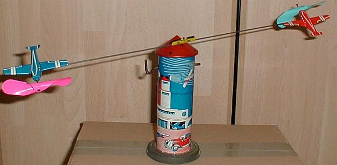 technofix 225 blech spielzeug fliegerturm