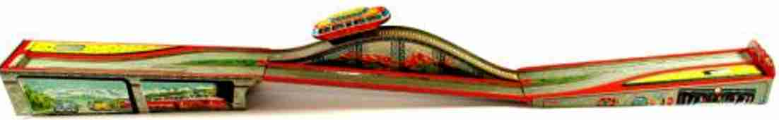 technofix 280 tin toy the spring wound motor driven car