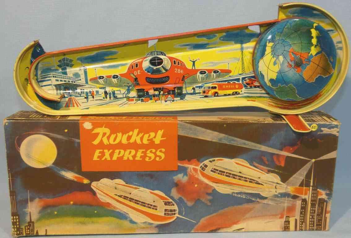technofix 286 raketen-express federwerk blech