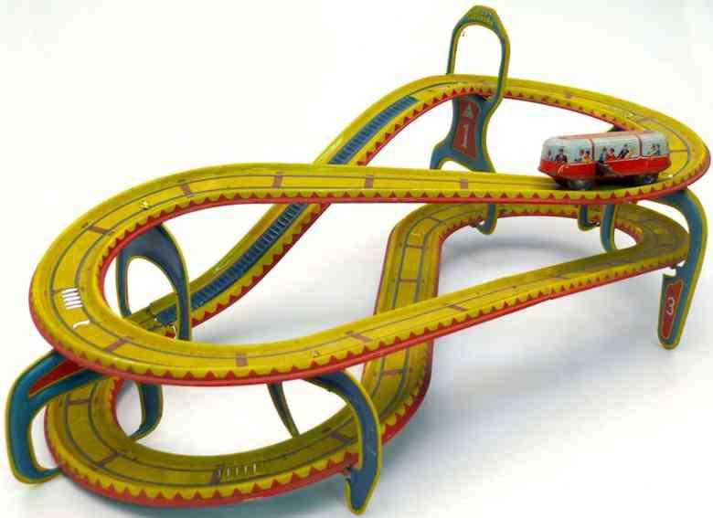 technofix 290/1 topoggan achterbahn mit 1 Auto