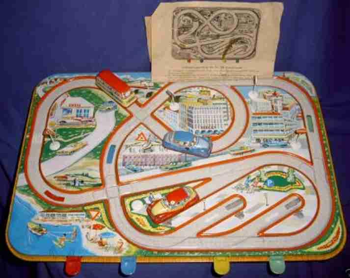 technofix 295 blech plastik spielzeug traffic control verkehrsspiel