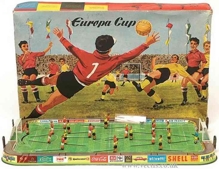 Technofix 305 Fußballspiel Europa Cup