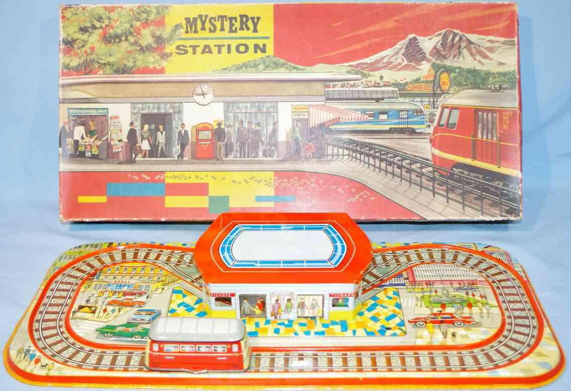 technofix 306 blech spielzeug mystery station mit uhrwerk