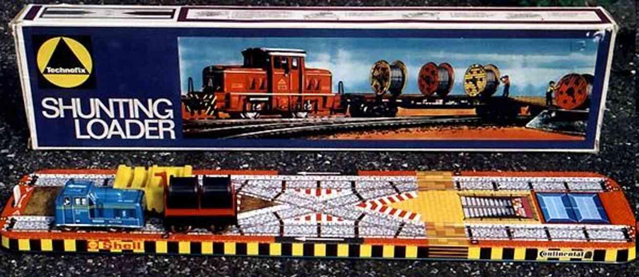 Technofix 325 Eisenbahn Loader Bahn