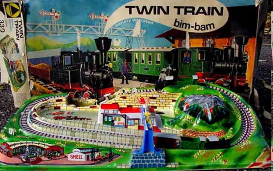 technofix 330 blech spielzeug twin train bahn