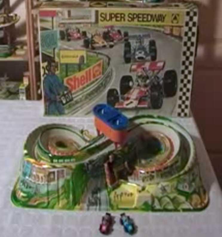 technofix 336 blech spielzeug super speedway