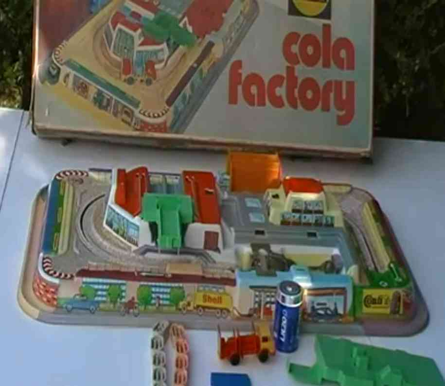 technofix 340 blech spielzeug cola factory