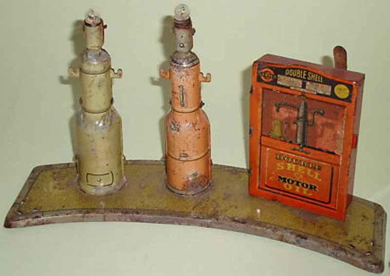Tippco Tankstelle mit 2 Säulen