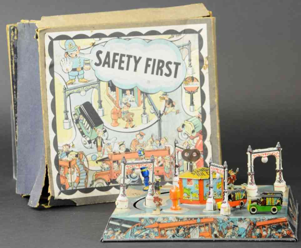 blech safety first sicherheit zuerst autospielzeug