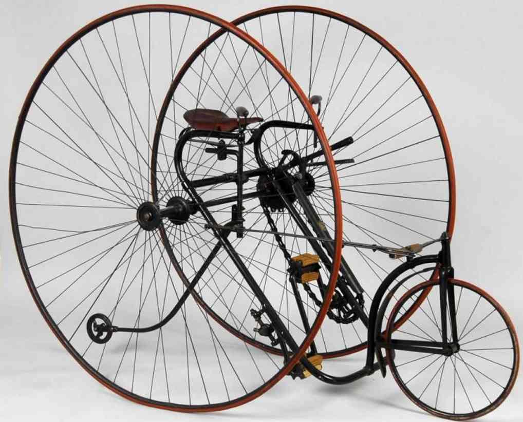 Großes Dreirad mit Handbremse