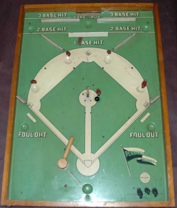Wolverine Pennant Winner Baseball Game