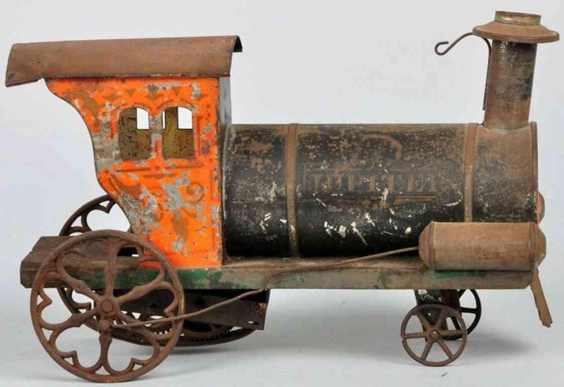 American Flyer Toy Company Bodenläufer Lokomotive Jupiter