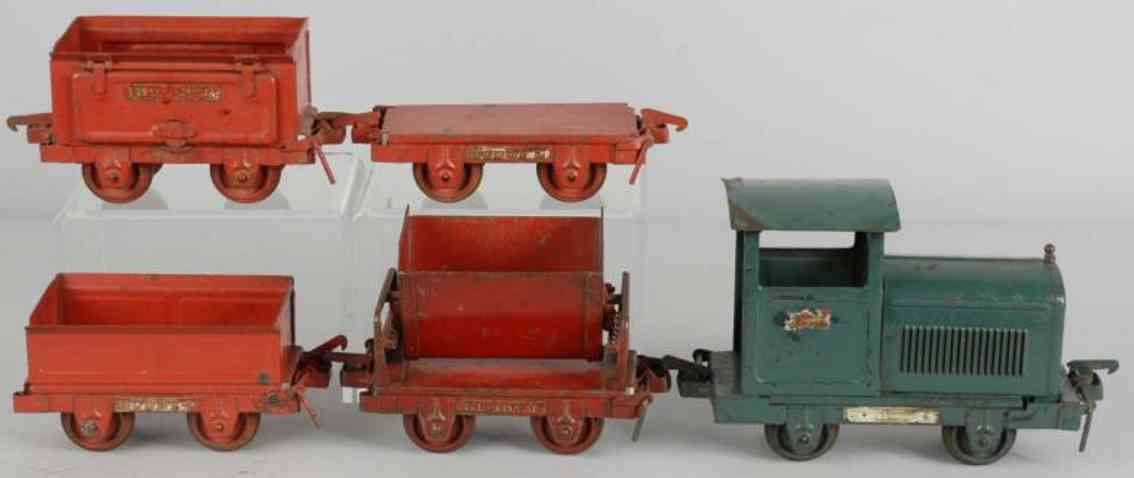 Buddy L Bodenläufer Industrie-Zug-Set