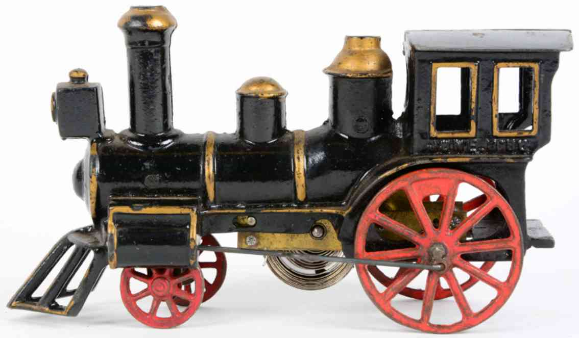 carpenter spielzeug eisenbahn bodenlaeufer uhrwerk-lokomotive