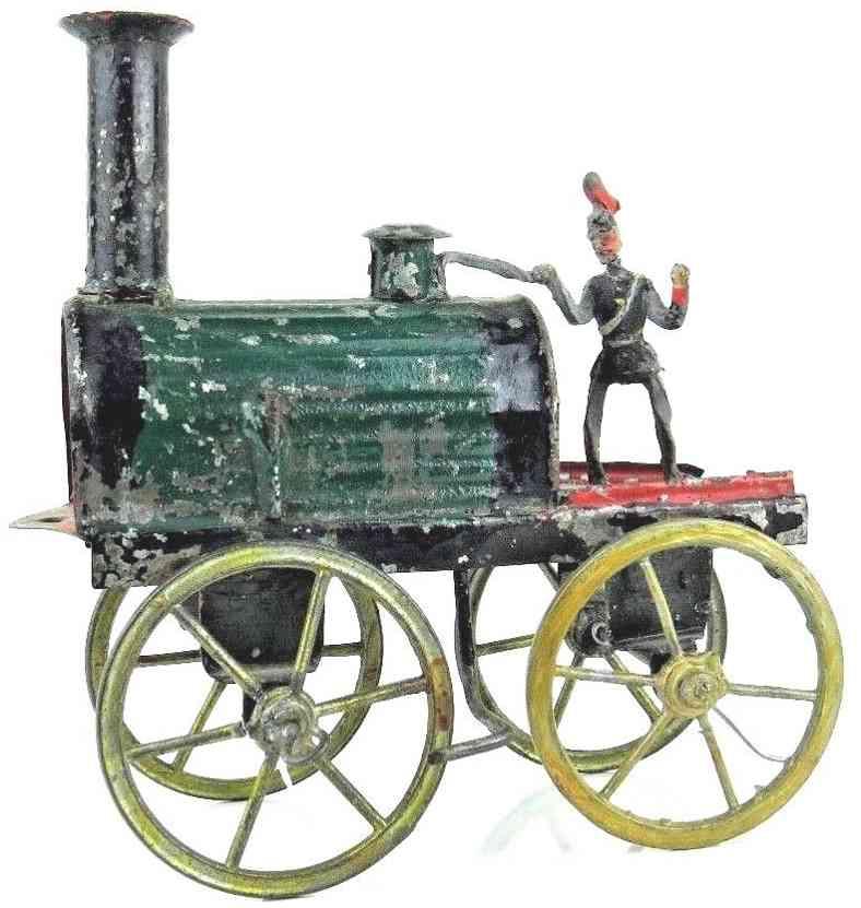 francis field and francis spielzeug eisenbahn bodenlaeufer lokomotive mit fahrer