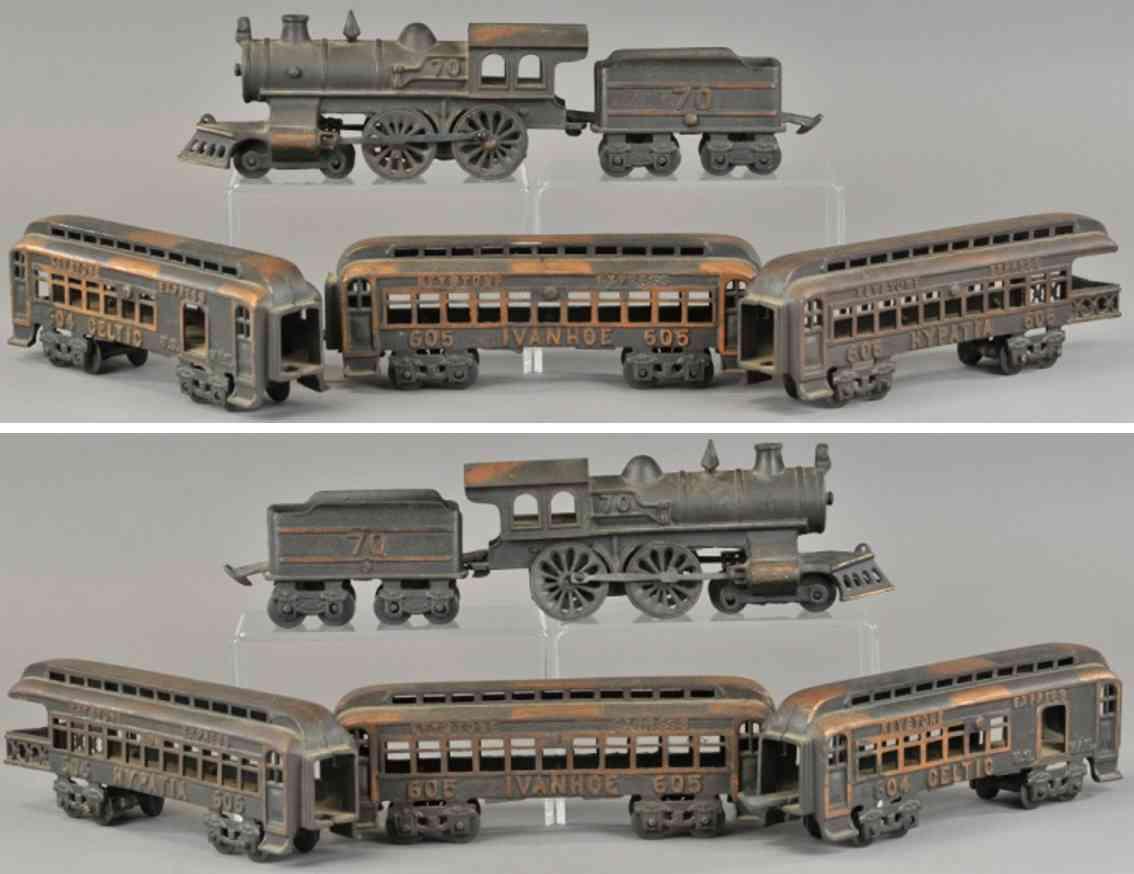 grey iron casting company 70 604 605 606 railway toy floor train set