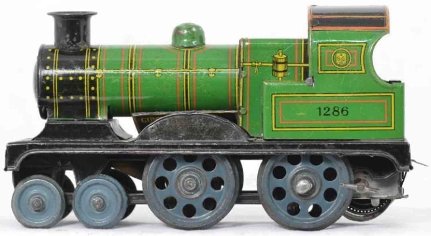 gunthermann 1286 railway toy floor train locomotive