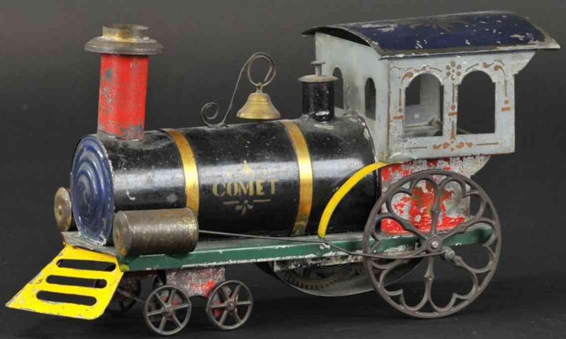 ives railway toy floor train comet locomotive
