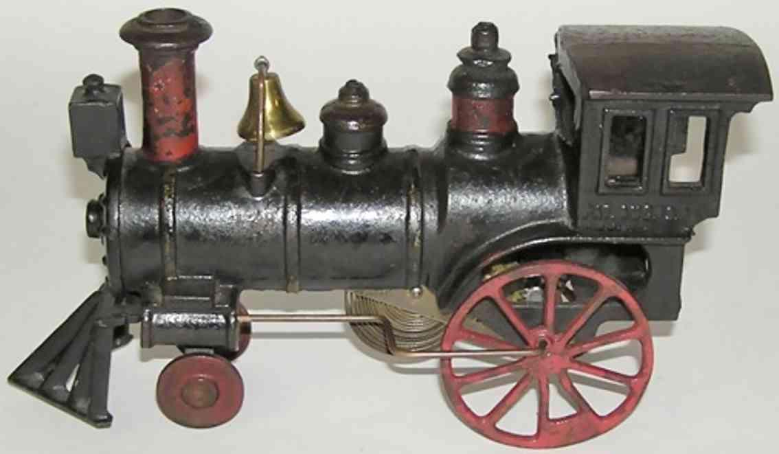 ives spielzeug eisenbahn bodenlaufer amerikanische uhrwerk dampflokomotive